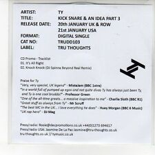 (EN918) TY, Kick Snare & An Idea Part 3 - 2013 DJ CD