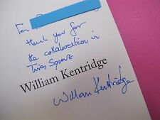 William Kentridge.(SIGNED).Museum Contemporary Art Chicago.2001.Ex.Cond.RARE