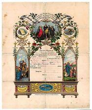 PA Dutch German Taufschein Baptism Certificate: Landis - Schwalle? Oley Berks