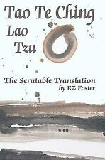 2DAY SHIPPING | Tao Te Ching: The Scrutable Translation, PAPERBACK, Lao Tzu