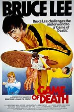 Framed Bruce Lee Movie Print – The Game of Death 1978 (MMA Martial Arts Picture)