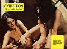 SEXY CLAUDINE BECCARIE EXHIBITION 1975 VINTAGE LOBBY CARD #3  SEXPLOITATION