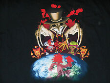 INSANE CLOWNE POSSE ICP DARK CARNIVAL 6 JOKER SHIRT MEN XL RAP HORROR SHANGRI LA