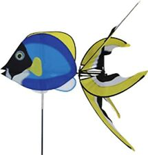 Powder Blue Surgeon Fish Staked Wind Spinner PR 25442