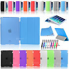 New Flip Smart Cover + Back Matte Case For Apple iPad Air iPad 5