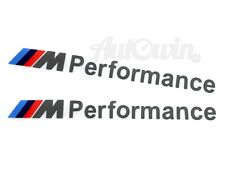 BMW /// M1 M2 M3 M4 M5 M6 M7 Performance Sticker Logo Emblem 2x pcs.