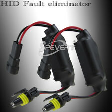 Xenon HID Flicker Error Warning Canceller CANBUS Capacitors Decoder Kit For BMW
