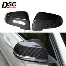 Carbon Fiber Side Wing Mirror Cap Cover for BMW 5 Series F10 Replacement Parts