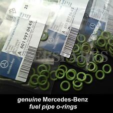 Mercedes-Benz CDI diesel fuel line o-ring /seal 601 997 06 45 / 6019970645 x 6pc