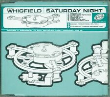 Whigfield - Saturday Night 7 Tracks  Cd Ottimo