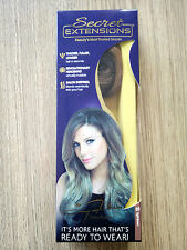 Secret Extensions by Daisy Fuentes,Medium Brown Hair AS SEEN ON TV