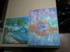 Bilder auf Leinwand - 2 Bilder - auf Leinwand - gemalt
