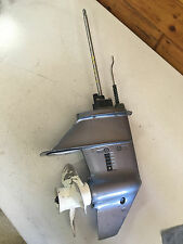 "1995 Yamaha 6 8 Hp 2 Stroke 2 Cyl Outboard Motor 20 "" Lower Unit Freshwater MN"