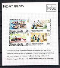 Pitcairn Islands 1980 Block 6 Post/Transport Postfrisch