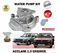 FOR TRIUMPH ACCLAIM EN4 ENGINE + HONDA CIVIC 1.3 1980-1984 NEW WATER PUMP KIT