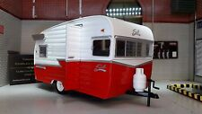 LGB G 1:24 Scale 1961 Shasta Airflyte US American Caravan Diecast Detailed Model