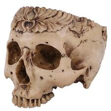 Creative Flower Pot Human Skull Planter Garden Container Home Decor