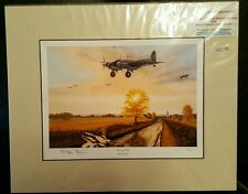 Limited Edition Aviation Mounted Print Dawn to Dusk by Stephen Brown 3/25