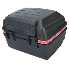 New Motorcycle Luggage Trunk Top Case Storage Box Black Super Cool