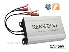 Kenwood KAC-M1804 180 W RMS 4-Channel COMPACT Marine ATV Car Boat Amplifier