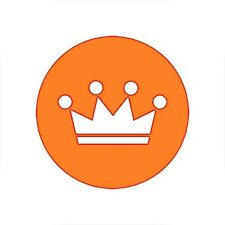 Strava King of the Mountain Decal/Stickers | KOM | Cycling | Bike | Ride