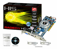 Brand new HIS Radeon HD 4350 HDMI 512MB (64 bit) DDR3 AGP 8x Video Card
