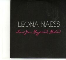 (DP846) Leona Naess, Leave Your Boyfriend Behind - 2009 DJ CD