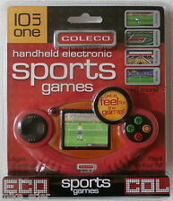Coleco 10 in 1 Sports Games LCD Handheld and Plug & Play (Coleco, 2006) NEW