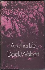 Another Life by Derek Walcott - First English Edition - 1973 - St Lucia - Scarce