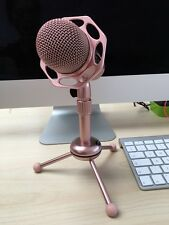 Oro Rosa podcast Studio Desktop micrófono MIC para PC Mac Laptop Skype MSN