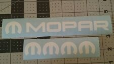 MOPAR DECAL VINYL STICKER COMBO