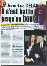 Coupure de presse Clipping 2012  - Jean Luc Delarue - ( 3 pages)