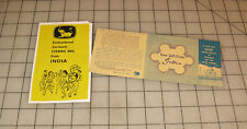 Vintage AROUND THE WORLD SHOPPERS CLUB MJ Made in INDIA Product Brochures