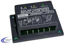 Kemo M174 Solar Laderegler Dual 16 A - Wingenerator Solar Akku Regler Steuerung