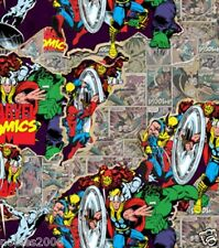Fabric by the Yard - Licensed Marvel - Marvel Comics Retro Breakthrough