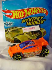 2017 Mystery Models #09 SPECTYTE∞orange; yellow oh5∞#9∞Sticker∞Hot Wheels∞