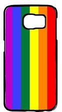 Gay Lesbian Pride Flag Hard Rubber Case Cover For Samsung Galaxy Note 5