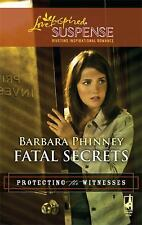 Lot of 5 Love Inspired Suspense Novels (Protecting the Witness Series)