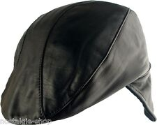 Rock 'n' Roll Leather Hat, 1950's Style Biker Cap,CSA Old school Hat,NEW
