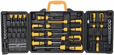 Rolson 60PC precisione standard Cacciavite Bit Socket set Repair Tool Kit