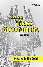 Advances in Mass Spectrometry Vol. 15 (2001, Hardcover)