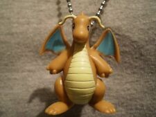 Dragonite Dragon Pokemon Figure Charm Necklace Kawaii Anime Collectible Jewelry