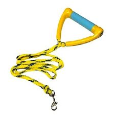 Paws Aboard doggy ski rope handle leash yellow blue dog 3000