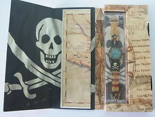 SDB902Pack Swatch - 1999 Uncino Pirates Treasure Map Skull Loomi Authentic