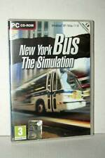 NEW YORK BUS THE SIMULATION GIOCO USATO PC CDROM VERSIONE ITALIANA GD1 46431