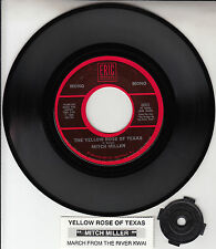 "MITCH MILLER Yellow Rose Of Texas 7"" 45 record BRAND NEW + juke box title strip"