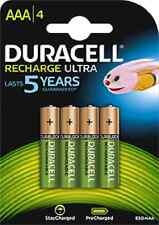 8 BATTERIES RECHARGEABLE DURACELL 850 MAH NiMH AAA LR3 DX2400 BATTERY