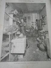 1893 Laboratoire d'anarchiste Douanier Contrebandiers