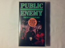 PUBLIC ENEMY Tour of a black planet vhs COME NUOVA LIKE NEW!!!