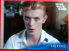 DAVID BOWIE - The Man Who Fell To Earth - Card #19 - Talking - Unstoppable